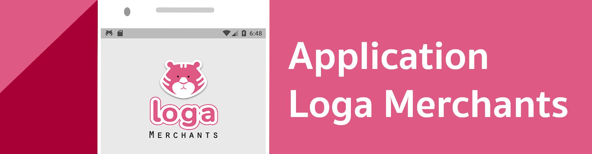 แอปพลิเคชัน Loga Merchants